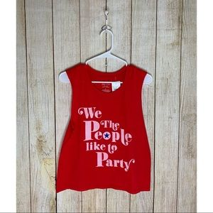Tops - We The People Graphic Tank